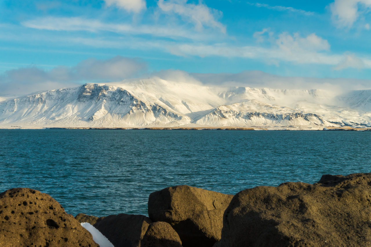 Beautiful stock photos of iceland, Beauty In Nature, Cold Temperature, Day, Iceland