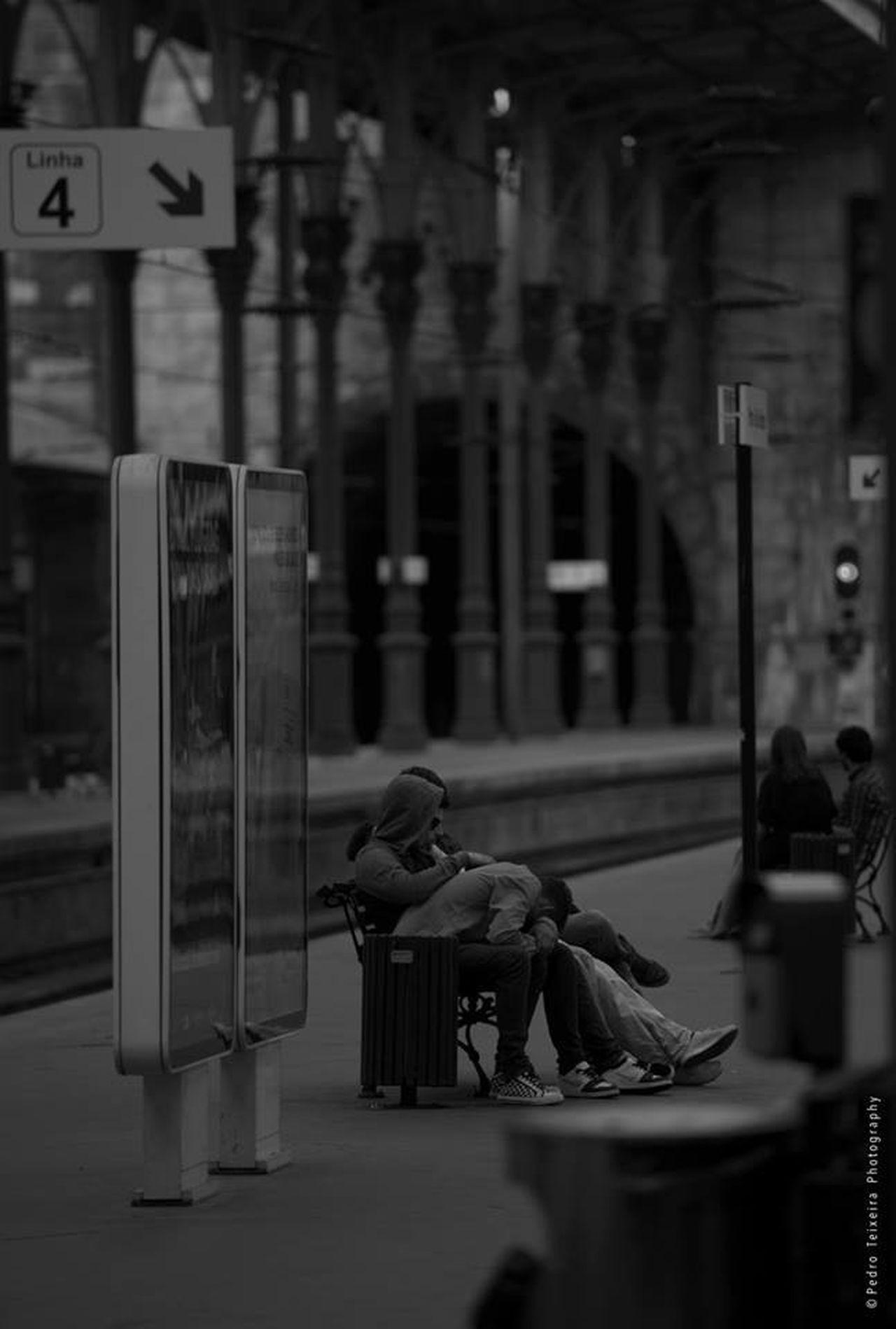 Morning Eye Treatment Series https://m.facebook.com/PedroTeixeiraPhotos/albums/529121560554466/ EyeEm Porto Black & White Train Station Black And White