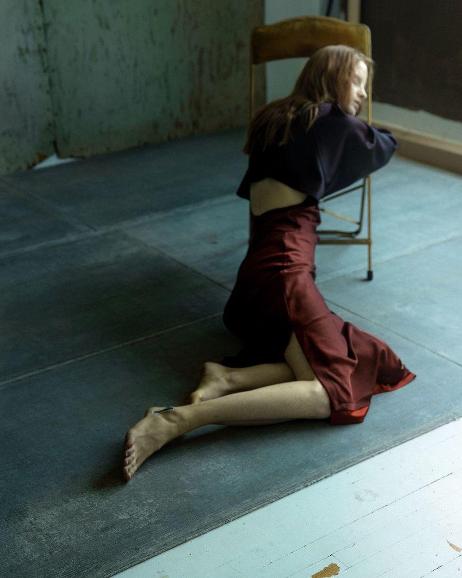 Fine Art Photography 43 Golden Moments BTS Portrait Of A Woman