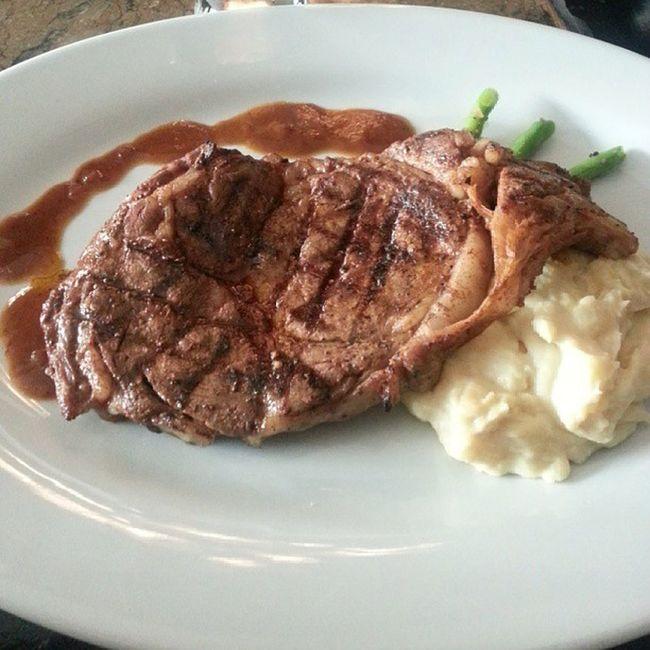 The best steak in town. Dillingers Steak 1stAnniv Love