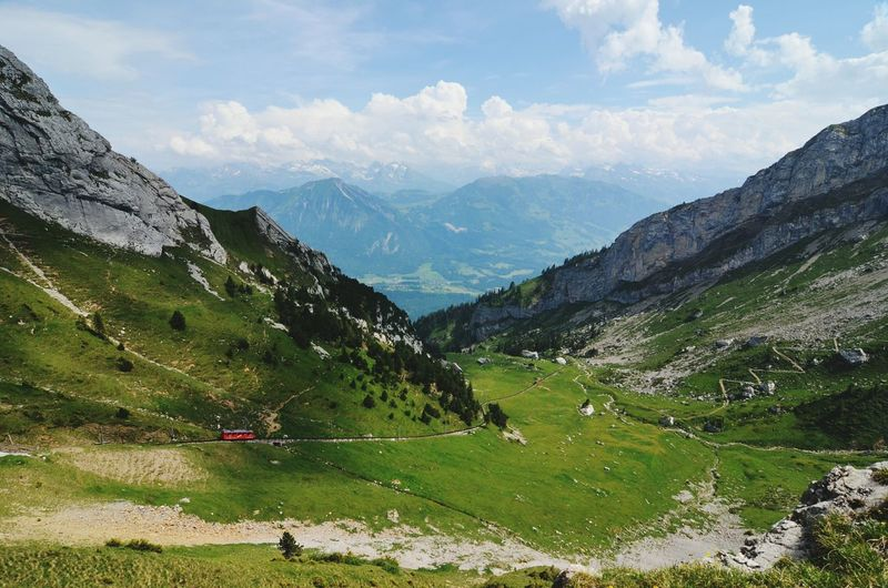 Landscape Mountain View Mountain Hiking Outdoor Photography Great Atmosphere RePicture Challenge Beverly Hills Great Outdoors In Touch With Nature Depth Of Field Switzerland Swiss Alps Majestic Nature Nature Textures Multiple Layers