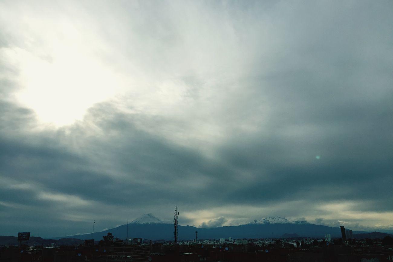 Volcán Popocatepetl Puebla De Zaragoza Mexico