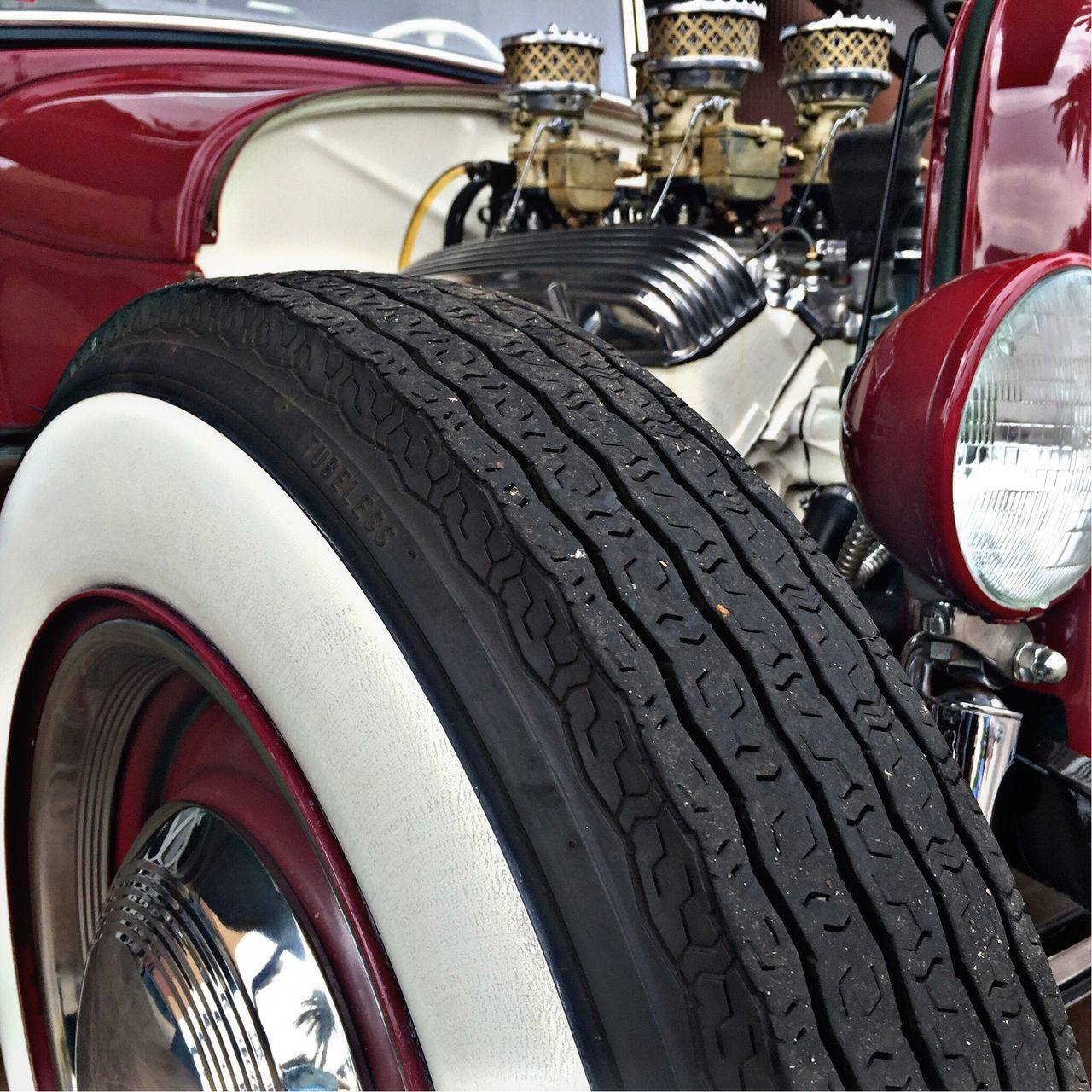 Whitewall Whitewalls  Engine Motor Kustomkuluture Vintage Cars Custom Cars Kustom Cars Hot Rod Hotrodcar HotRod Vintage Car Classic Car Hot Rod Classic Vintagecar Classic Cars Classiccar Cars Car Classic Car Show Custom Custom Cars, Hot Rods, Car Show Custom Car Customcar