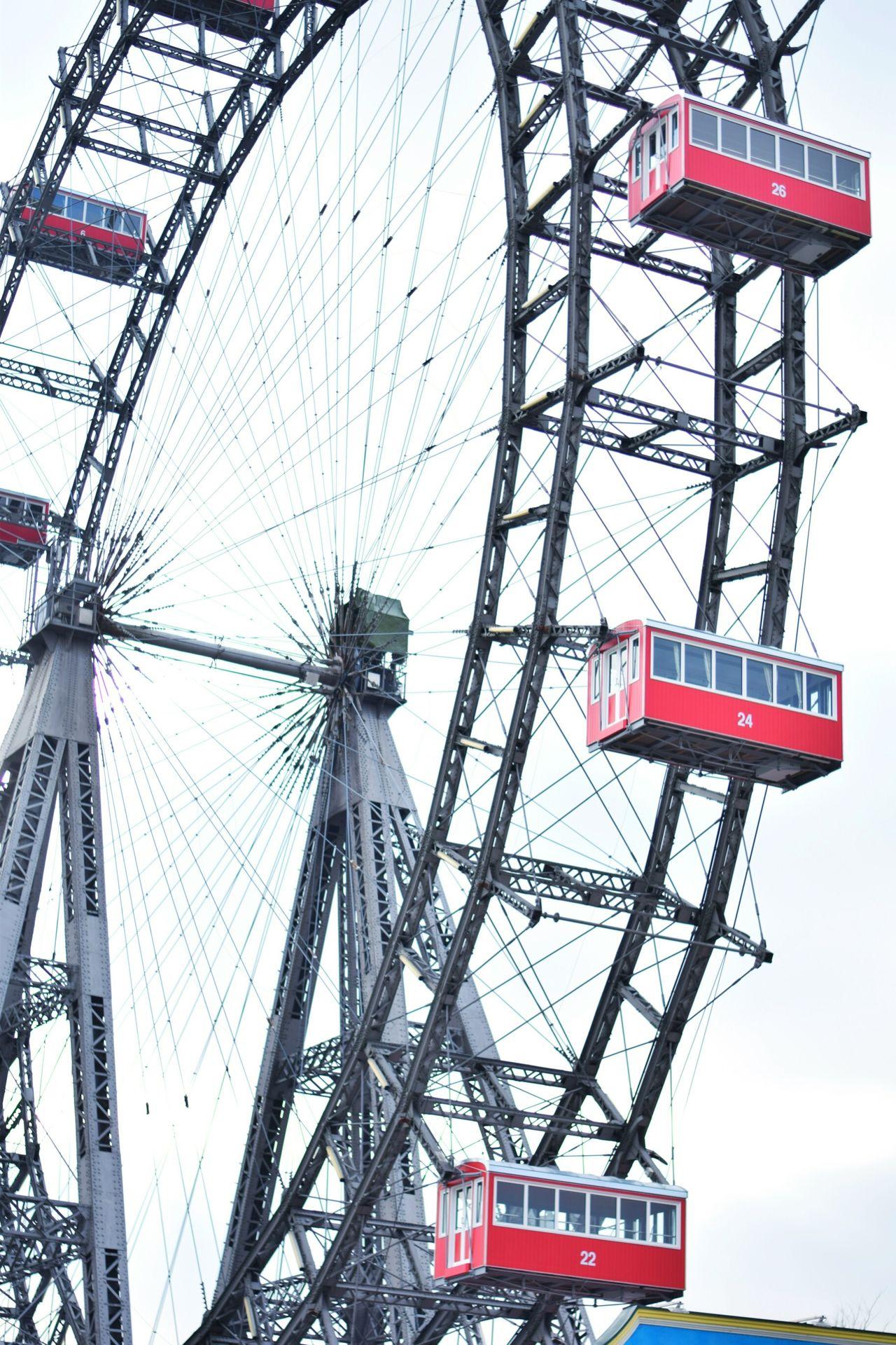 Amusement Park Ride Day Sky No People Atractions Riesenrad RAD Arts Culture And Entertainment Amusement Park City