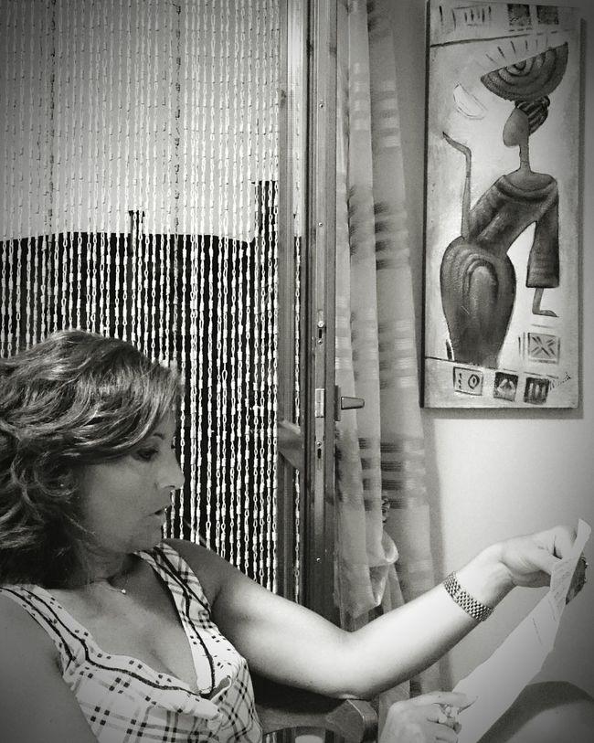 She reads Black&white Black & White Black And White Blackandwhite Shades Of Grey