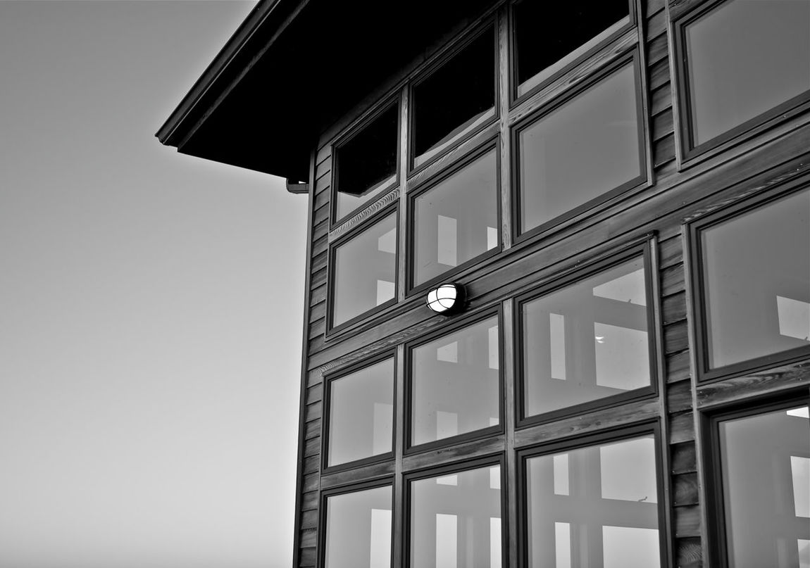 Low Angle View No People Architecture Day Sky Outdoors Follow Followme Njshooterz New Jersey Like Nj EyeEm Gallery Photooftheday Tranquil Scene New Jersey Isn't Boring Architecture Scenics Tranquility Sunset Sunset_collection Window Built Structure Full Frame Black And White