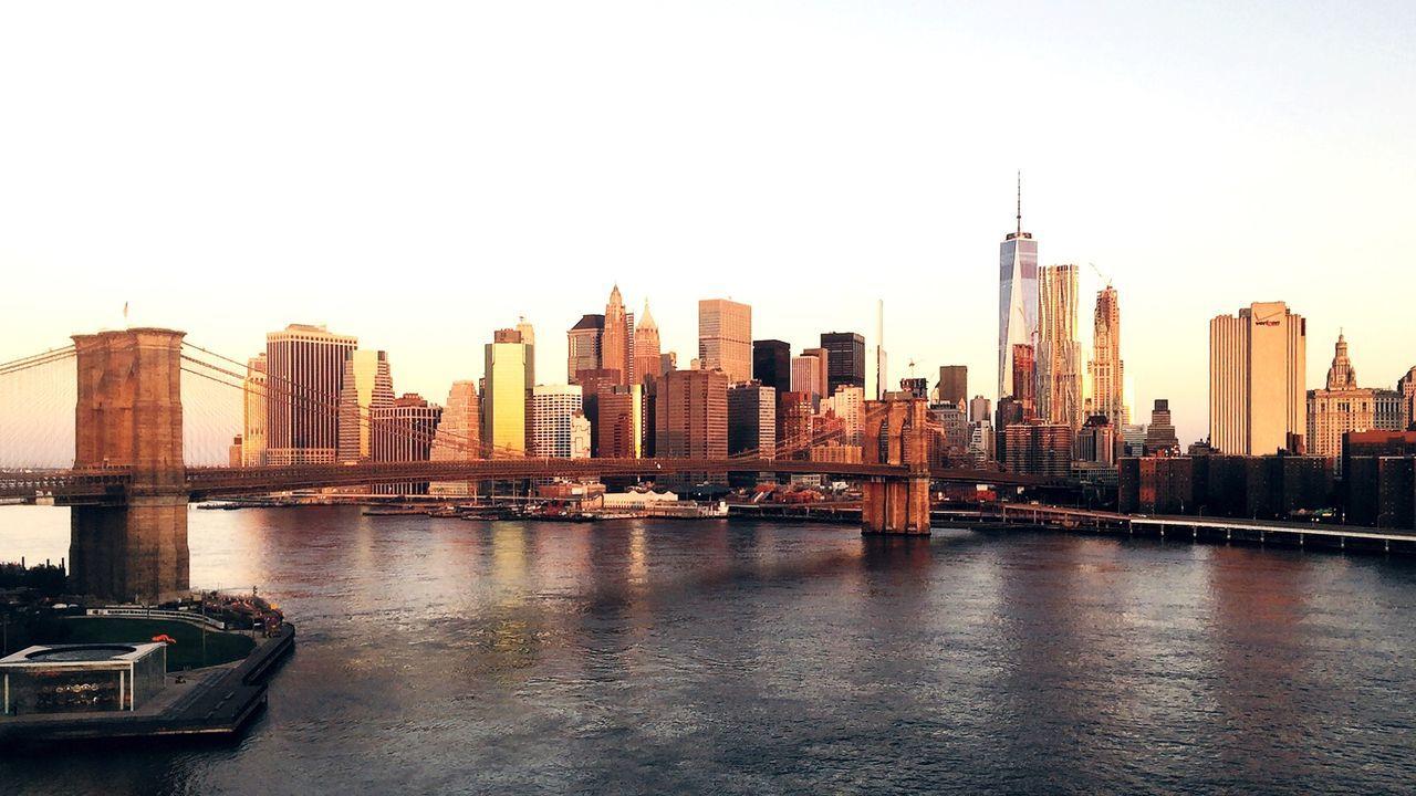 Beautiful stock photos of sonnenaufgang, Architecture, Bridge, Bridge - Man Made Structure, Brooklyn Bridge