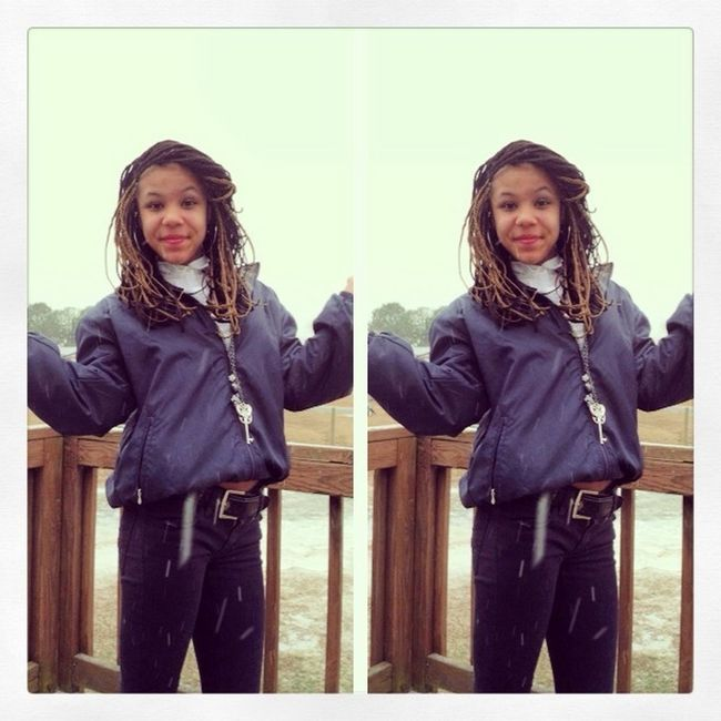 First Picture In The Snow ❄❄❄