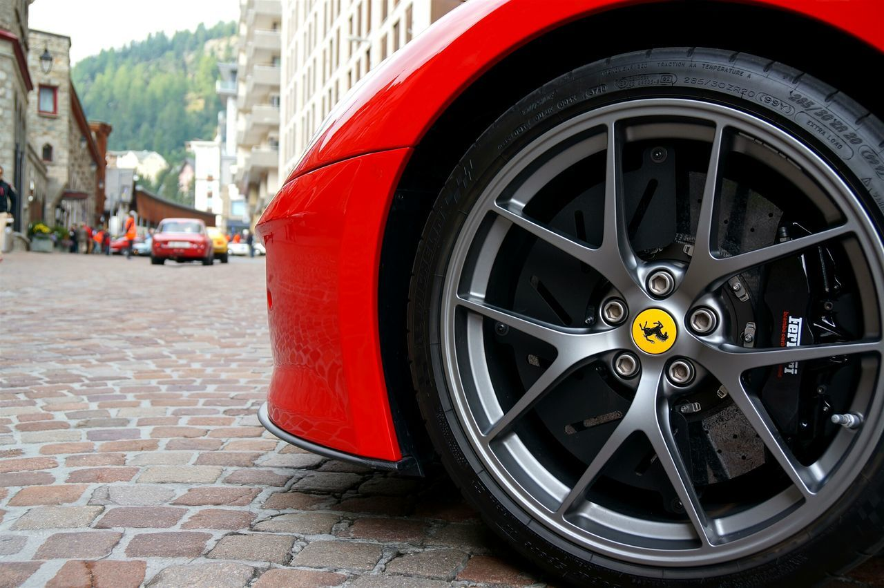Ferrari 599 GTO フェラーリ Ferrari Ferrari599 GTO Wheel Tire Car Europe Stmoritz  Rally ホイール タイヤ ヨーロッパ