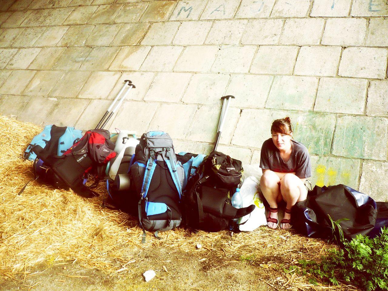 Under Bridge Waiting EyeEmNewHere After Trip Trip Photo Sitting Outdoors Enjoying Life ♥ Rainy Weather Rain Day Rain☔