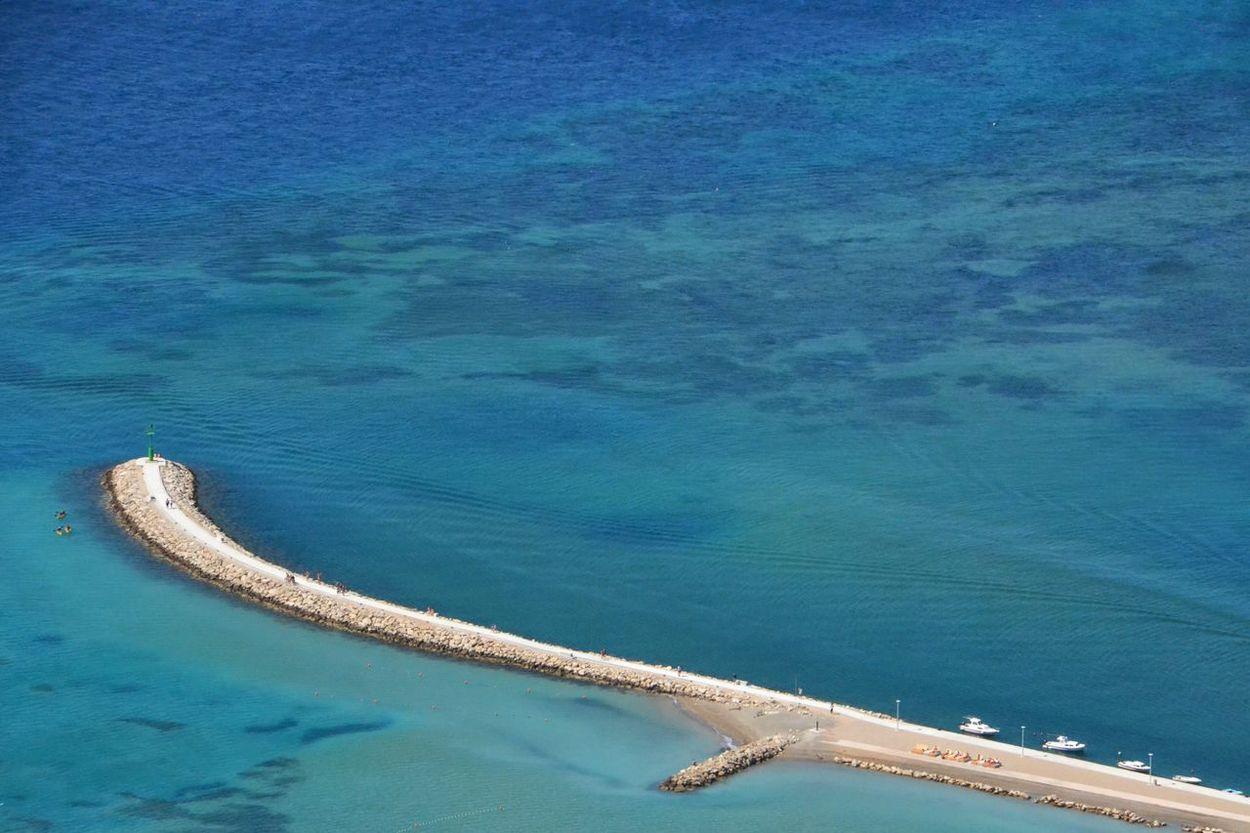 Beach Sea Sea Defence Sun