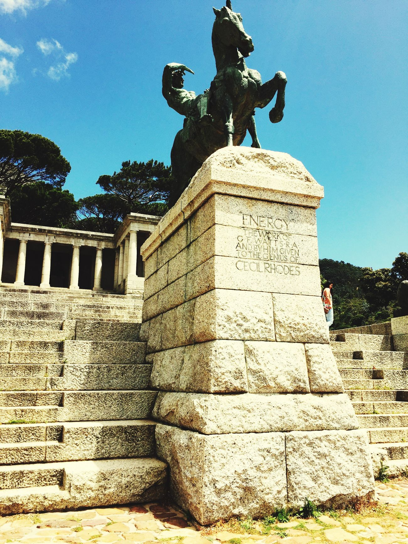 Rhodes memorial in Cape Town Rhodesmemorial Architecture history First Eyeem Photo