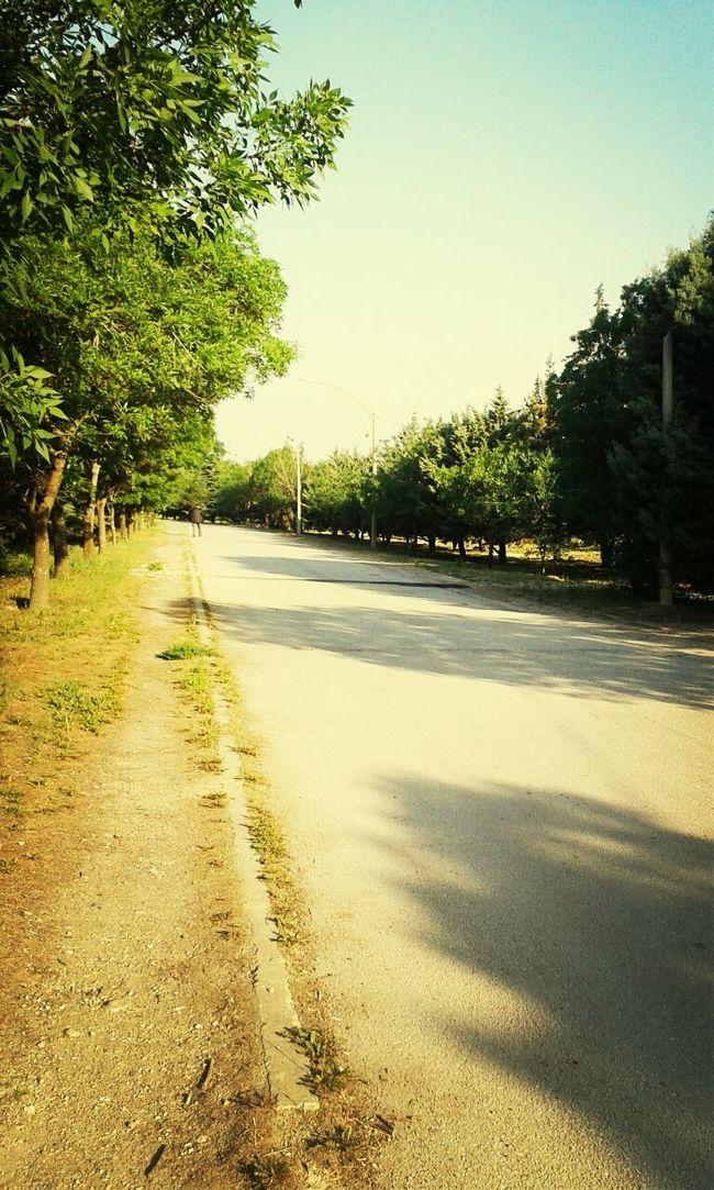Okul Yolu Düz Gider-miş Günaydın...Goodmorning ♡♥♡♥
