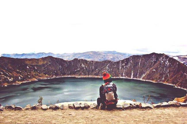 My Best Photo 2014 Taking Photos Ecuador The EyeEm Facebook Cover Challenge Streetphotography Laguna Quilotoa Photography Photooftheday Photoday