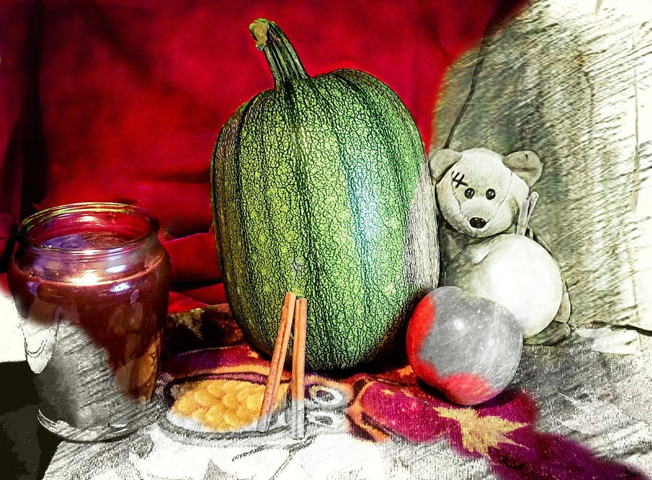 "Mutant Watermelon still life ""artsy"" edition Red Indoors  No People Close-up Samsung Galaxy S7 Edge Candle Maximum Closeness Red Bear Cinnamon Sticks Fall Still Life"