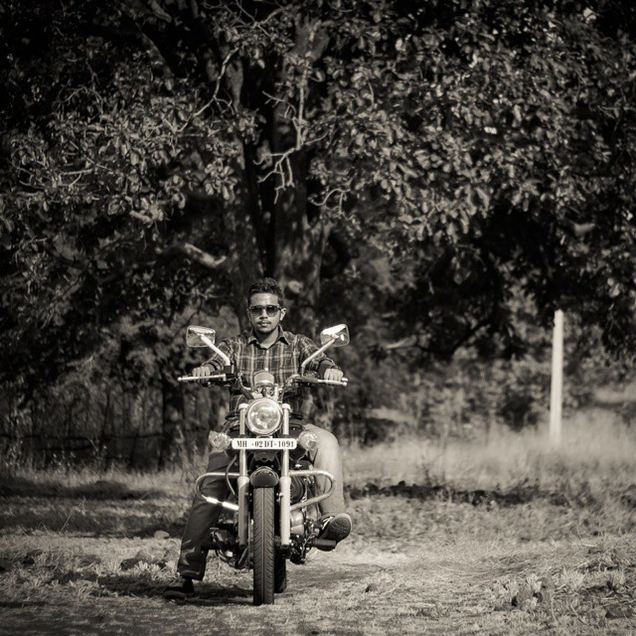 So my 200th post is dedicated to my new bike Avenger. Bajaj Avenger