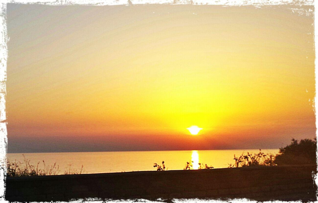 Sunset on the beach. ... Sunset Sky Sunset At The Beach Beach