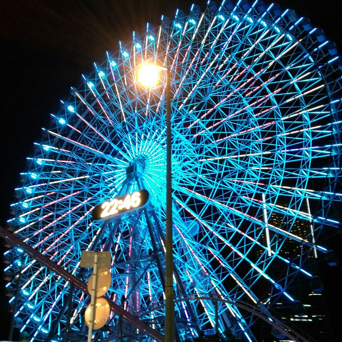 limited lighting at Minatomirai Ferris wheels First Eyeem Photo