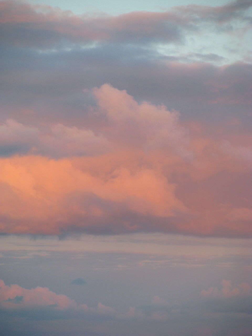 cloud - sky, sky, beauty in nature, nature, tranquility, scenics, cloudscape, atmospheric mood, sky only, tranquil scene, dramatic sky, idyllic, backgrounds, low angle view, outdoors, no people, sunset, full frame, day