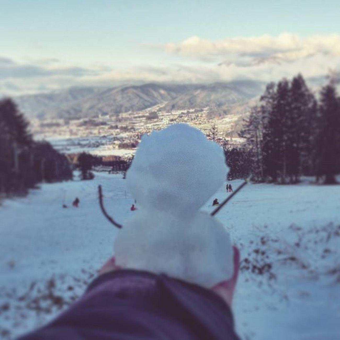Kijimadaira♡♡♡ シーズンイン 木島平スキー場 2016 Snowman 雪だるま Snowboard Snow スノーボード 戻ってきました 年の瀬 年末年始