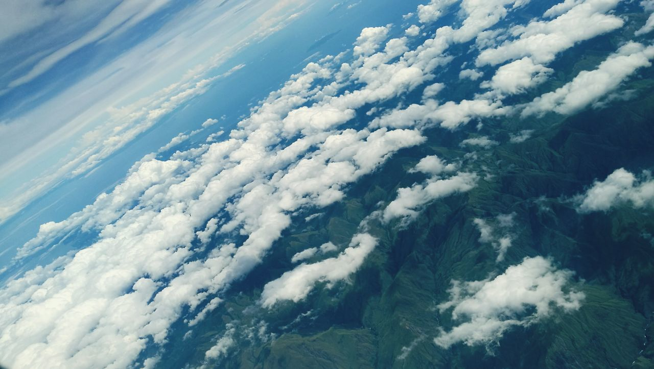 Cloud - Sky Cloudscape Sky Nature Flying Aerial View Backgrounds Airplane Environment Beauty In Nature Heaven Day Scenics Tranquil Scene Sky And Clouds Skyviewers Cloudscapes Cloud Formations Mountain View Mountains And Sky Mountain Landscape Heaven And Earth Heaven Meets Earth Blue Sky White Clouds