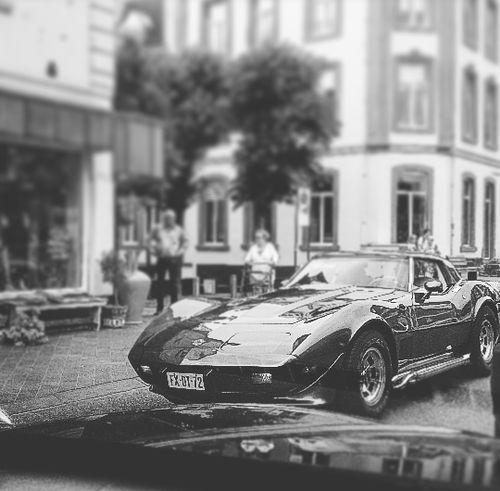 Corvettesummer Street Photography Taking Photos Corvetteweekend Streetphotography View From The Car Taking Photos Valkenburg Corvette Corvette In Black And White CorvetteStingray Fresh On Eyeem  Week On Eyeem The Week On EyeEm On The Way