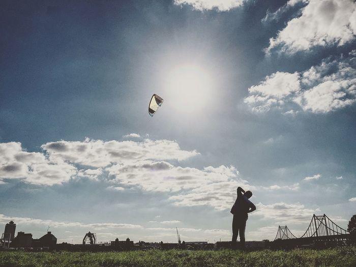 Showcase: November Catching Flying High Childhood Memories The Following Kite Kitesurfing Outdoors Bridge Child