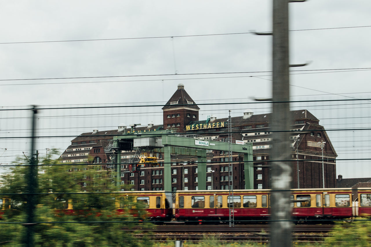 The Best Of Berlin Photographic Memory 06-12,June,2016 Architecture Building Capture The Moment Capturing Movement Cityscapes Clouds And Sky Enjoying Life Exceptional Photographs Showcase July Railway Feel The Journey Getting Inspired Going The Distance Landscapes Learn & Shoot: Leading Lines On The Way Photography In Motion Power Lines The Journey Is The Destination Through The Window Train Travel Westhafen My Year My View Capture Berlin