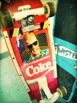 Retro Skateboard at Fasin Frank by Kharis O'Connell