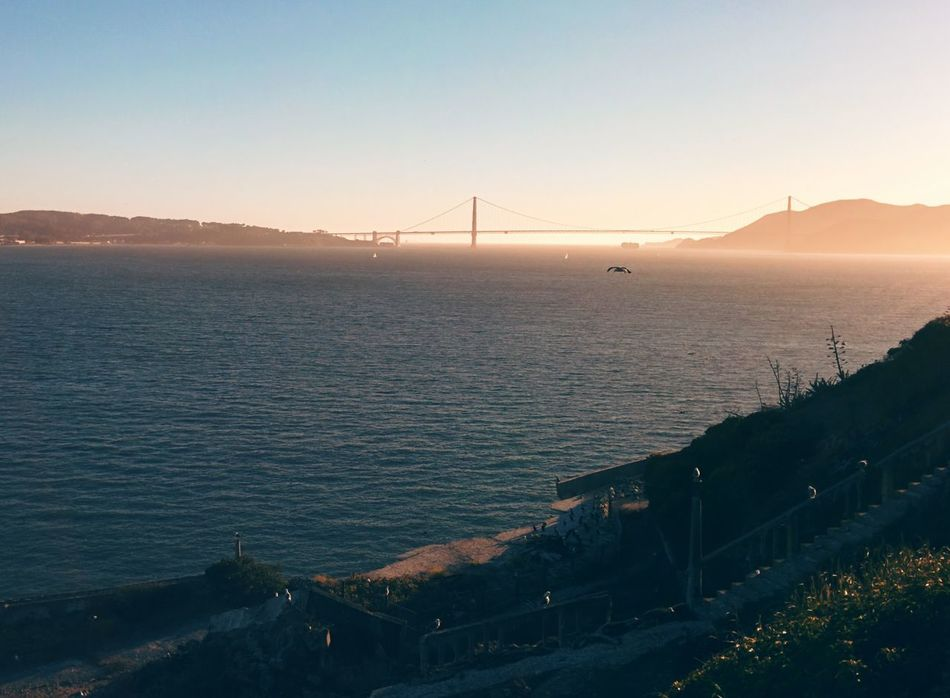 Beautiful stock photos of san francisco, Bridge - Man Made Structure, Built Structure, Connection, Day