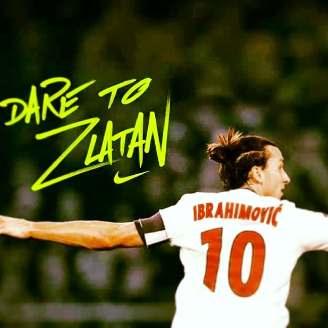 DareToZlatan Congratulation FantastiGoal Ibrakadabra Zlatan FootballArt seiunmostro :-) ZlatanNonTemeNessuno Psg