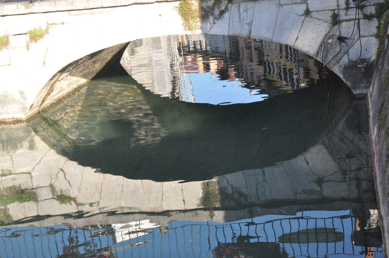 Architecture Bridge - Man Made Structure Built Structure Close-up Day Nature No People Outdoors Reflection Sunlight Water