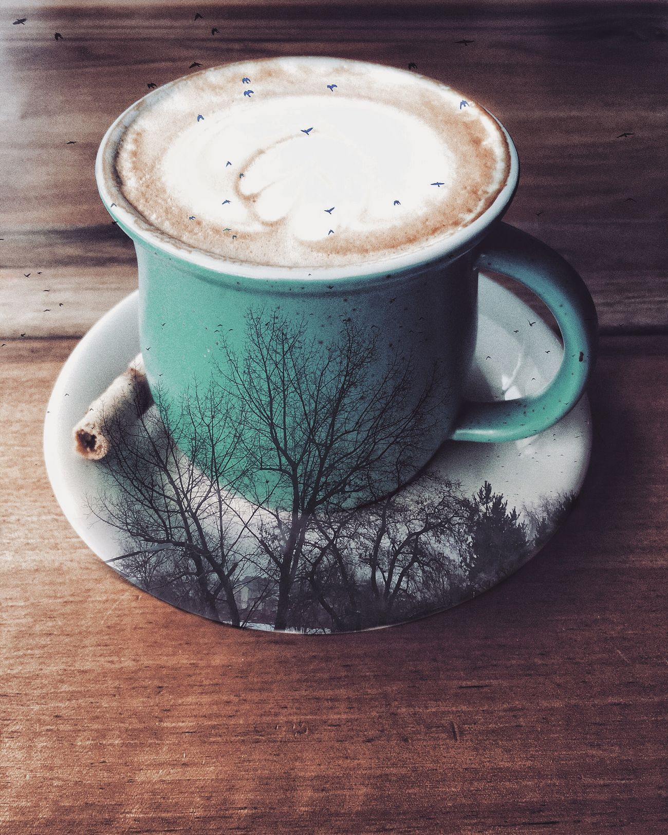 Drink Coffee - Drink Coffee Cup Food And Drink Refreshment Frothy Drink Table Freshness Cappuccino Close-up Indoors  Latte Froth Art Froth Day First Eyeem Photo