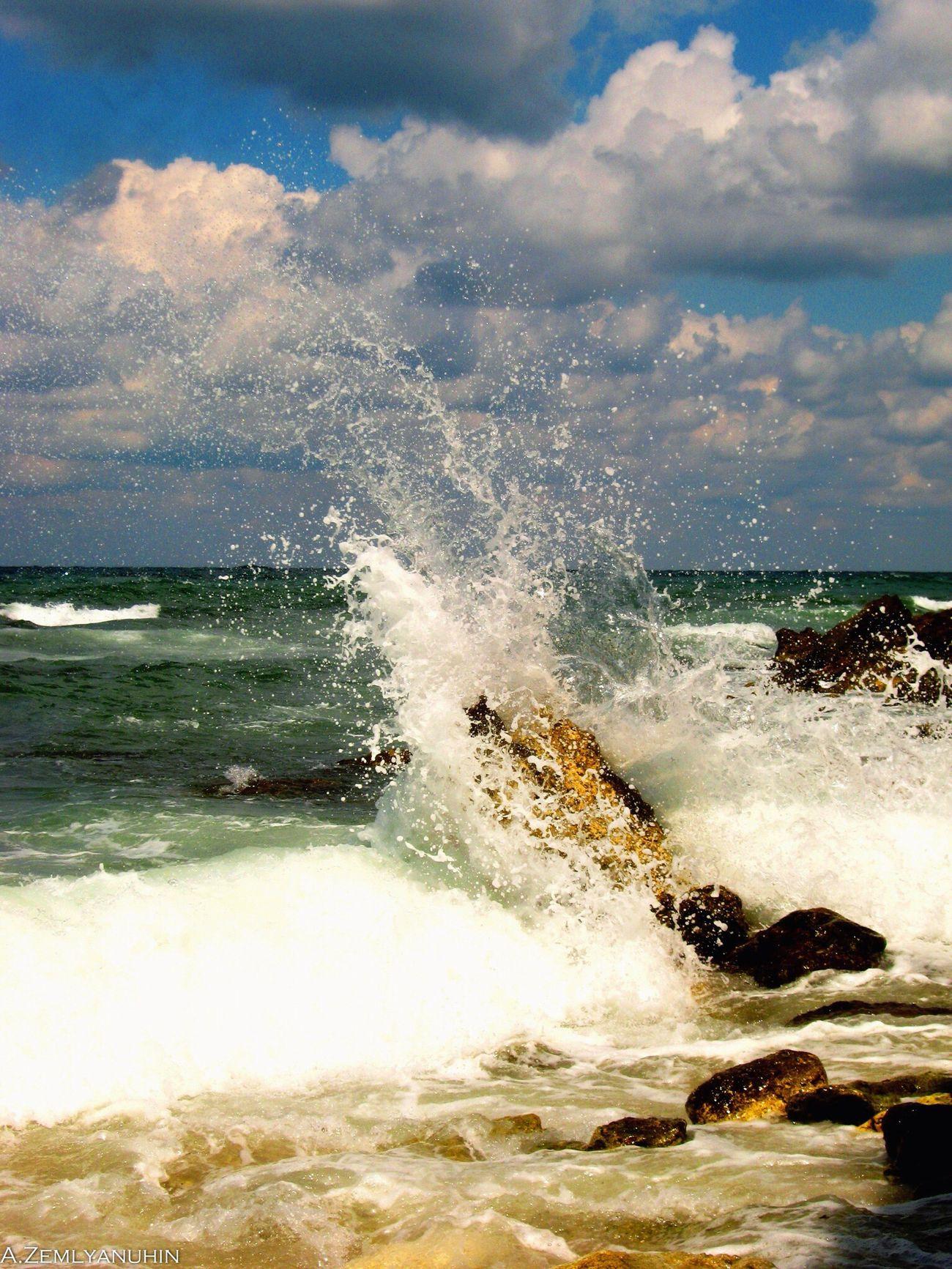 Seastorm Sea Stone Water Sevastopol  Summer Cloud - Sky EyeEmNewHere EyeEmNewHere EyeEmNewHere Blacksea