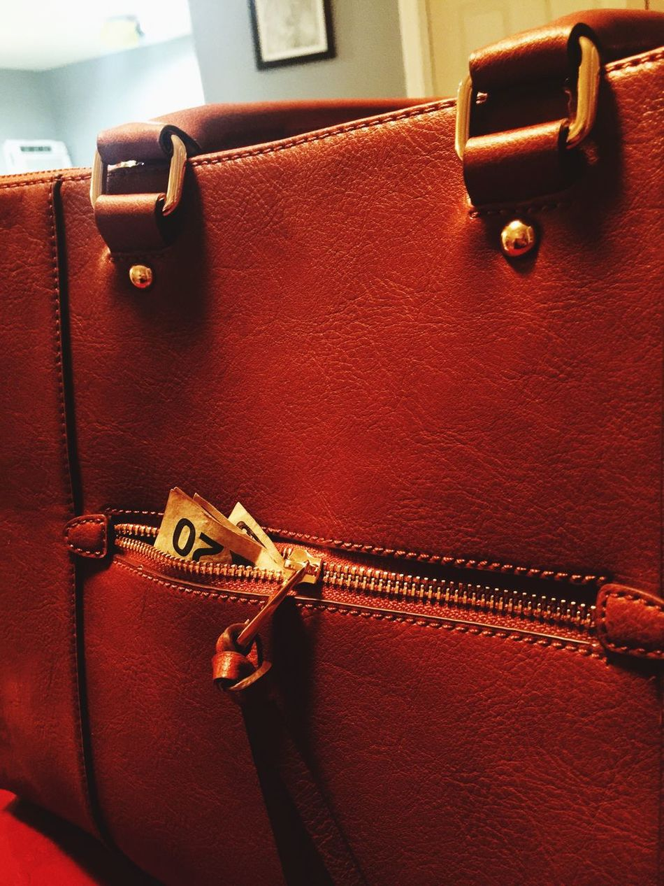 Money monster. Red No People Suitcase Old-fashioned Indoors  Close-up Maroon Day Purse Money Pocket  Zipper Monster EyeEmNewHere Twenty