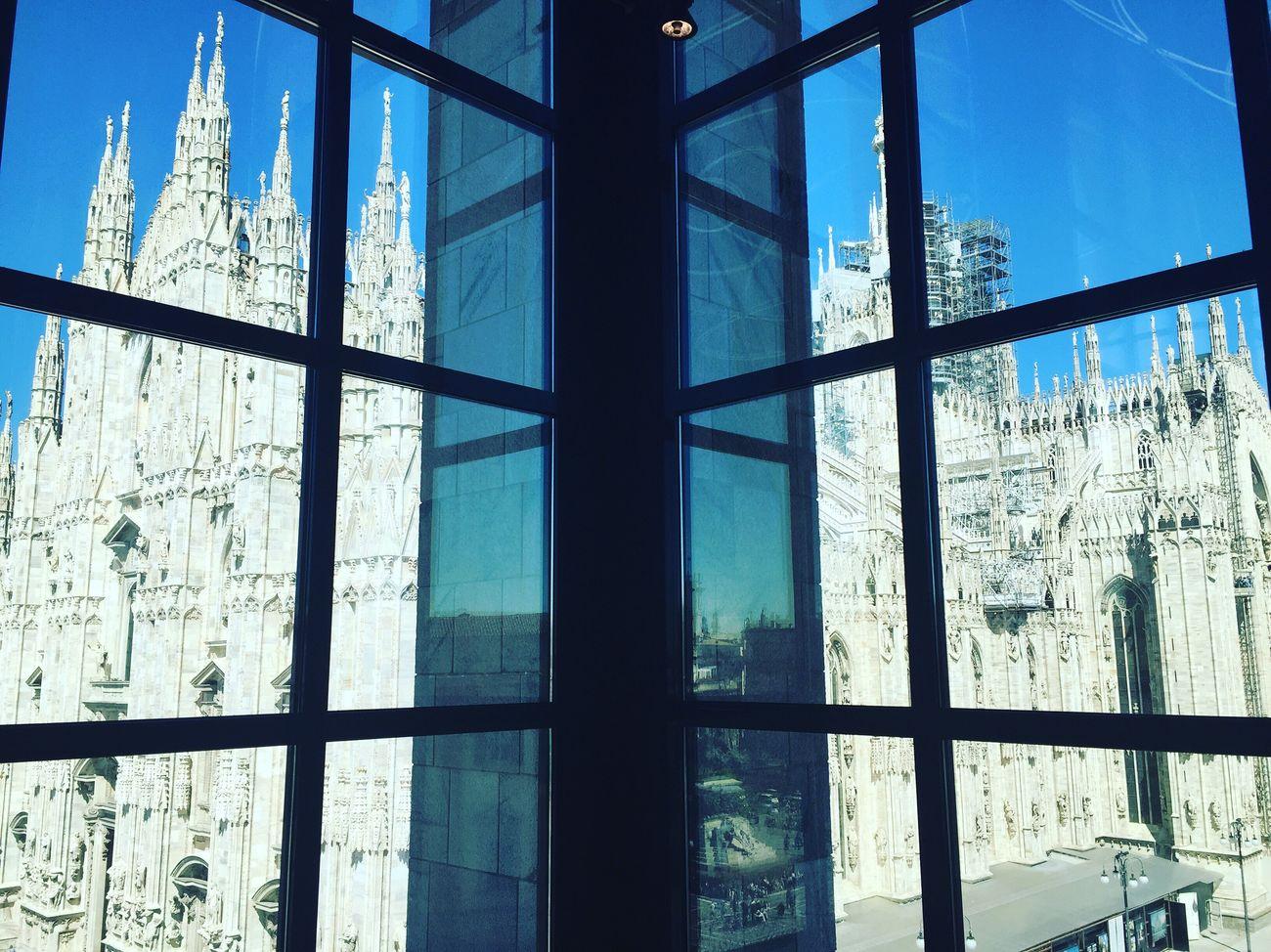 Duomo di Milano Milano Duomo Museodel900 Blue Sky
