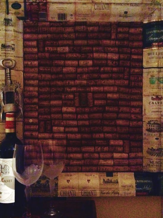 Wine Moments One More For The Board Brick Wall Indoors  No People Wine Day Wine Tasting Wineglass Wine Glass Wine Time Wine Bottle Wine Glasses Wine Cork Wine Corks Wine Collection Noticeboard Bottle Of Wine Bottle And Glass