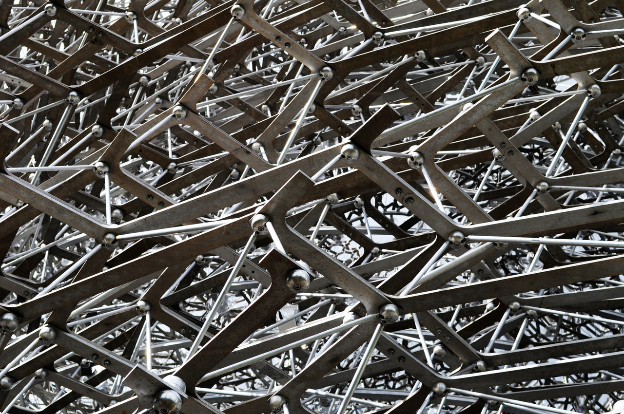 Abstract Architecture Backgrounds Close-up Complicated Day Framework Intricate Kew Gardens Linked Metal No People Outdoors Pattern Structure Textured  The Hive