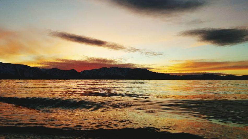 Untouched Untouched Beauty Lake Tahoe Lake Sunset Reflection Dramatic Sky Cloud - Sky Landscape Mountain Water Sky Beach Outdoors EyeAmNewHere WokeUpLikeThis Perfection Bliss Lake Tahoe, Ca Colors Eyeemphotography EyeEm Nature Lover Beauty In Nature Dramatic Sky Lake Tahoe, Nv