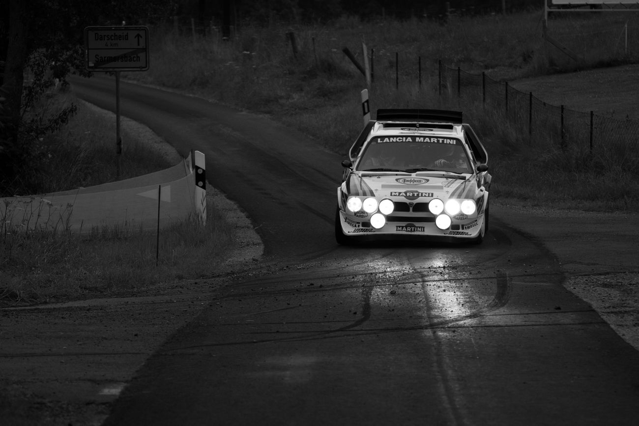 Black And White Eifel-Rallye Eifel-rallye-festival Lancia Motorsport Outdoors Rallye Rallye De Monte-Carlo Transportation