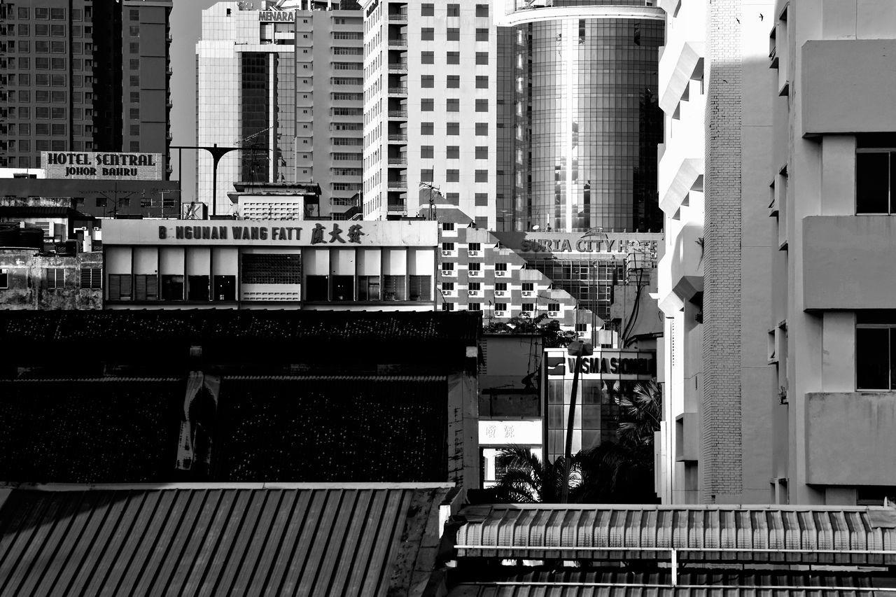 Architecture Blackandwhite Building Exterior Built Structure City Johor Bahru Outdoors The Street Photographer - 2017 EyeEm Awards