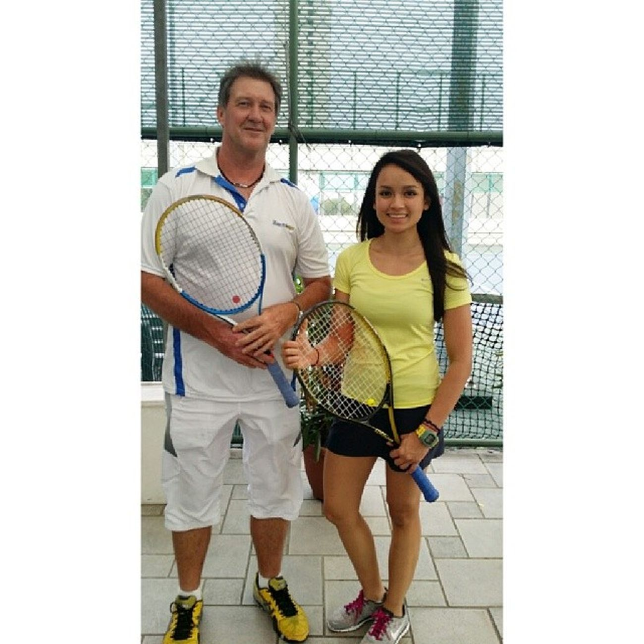 move over Serena? haha. well this is coach Chris from map sports.com one of the many that would tolerate my shit.