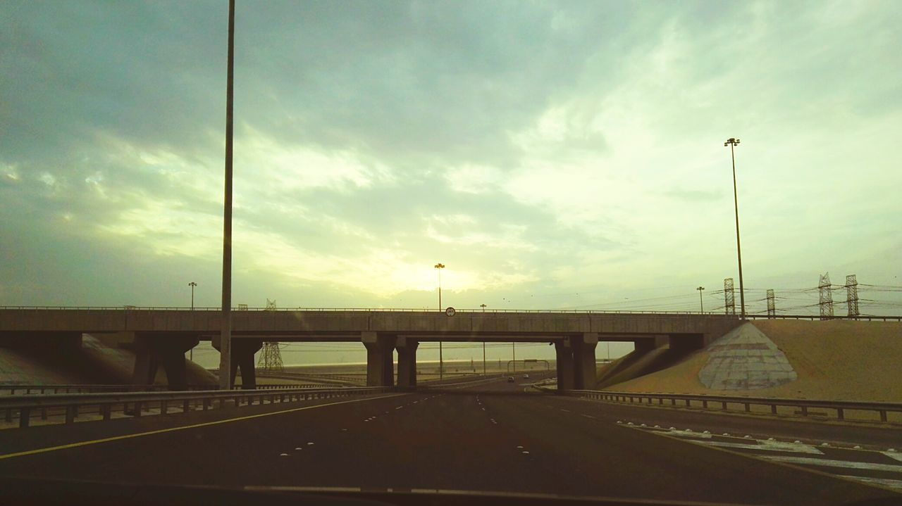 Bridge - Man Made Structure No People Outdoors Lonely Bridge Highway Sun Glare