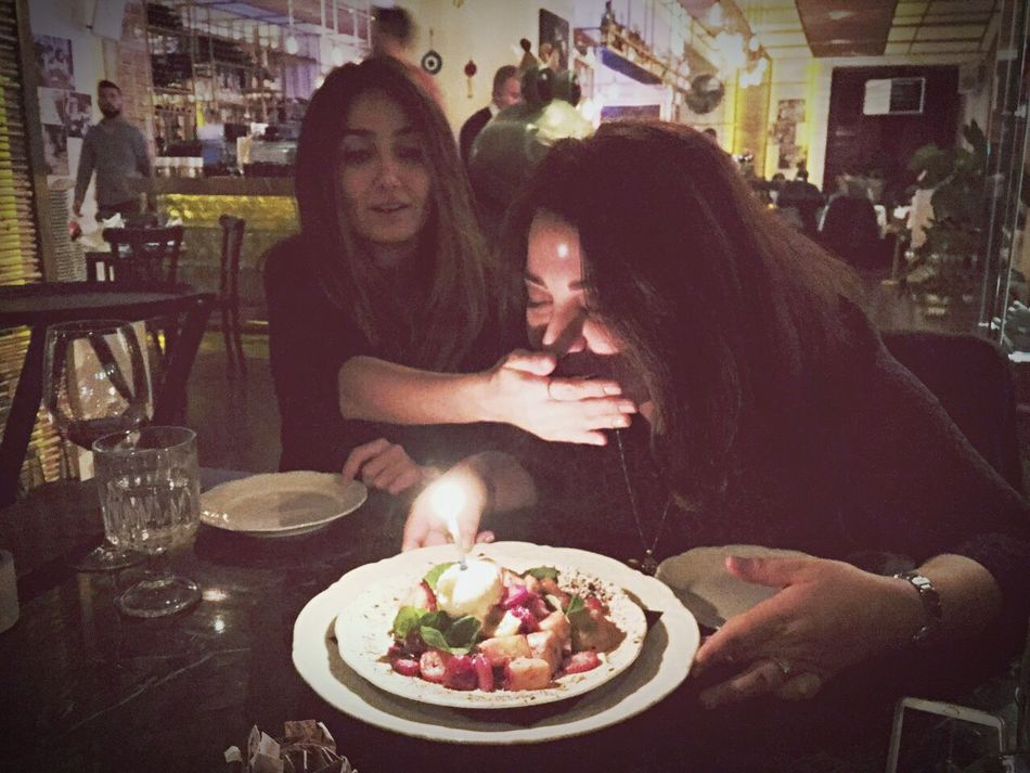 Enjoy The New Normal Food Restaurant Happiness Friendship Birthday Antiaging Candlelight Blocking