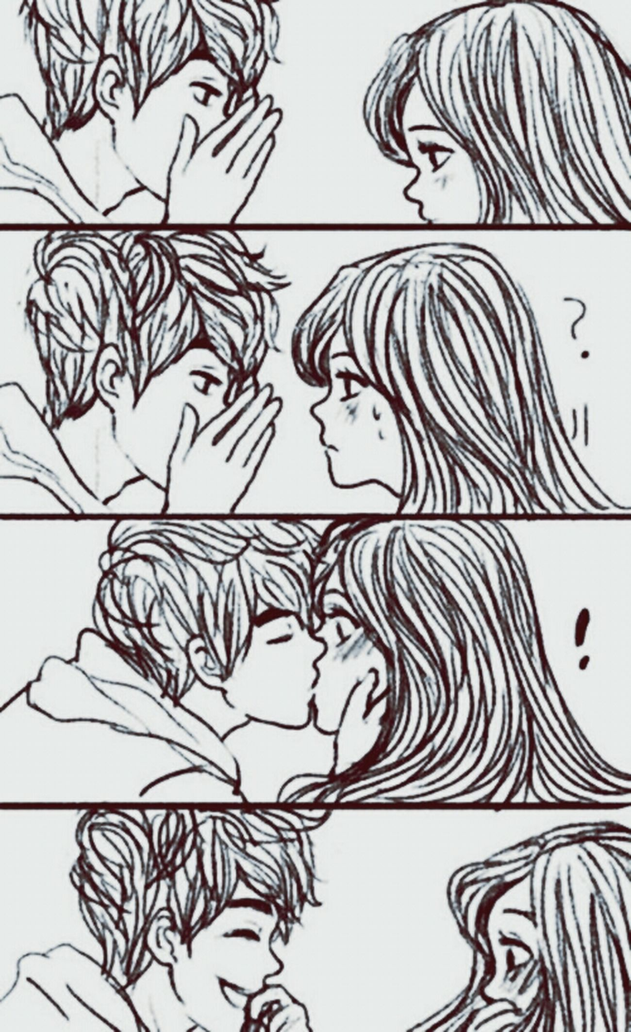 Love Boy And Girl Kiss Surprise Kiss