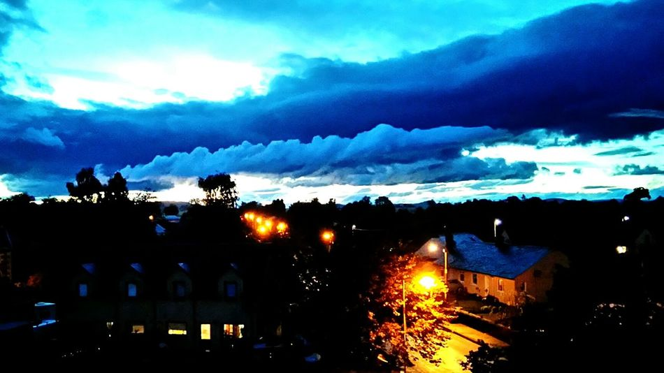 Empire Of Lights Scotland Dawn Black And Lights Light And Shadow Bright Dawn Street Lights Street Lights At Dawn Sunrise Clouds White Sky Contrast Sky Earth Contrast Light Contrast