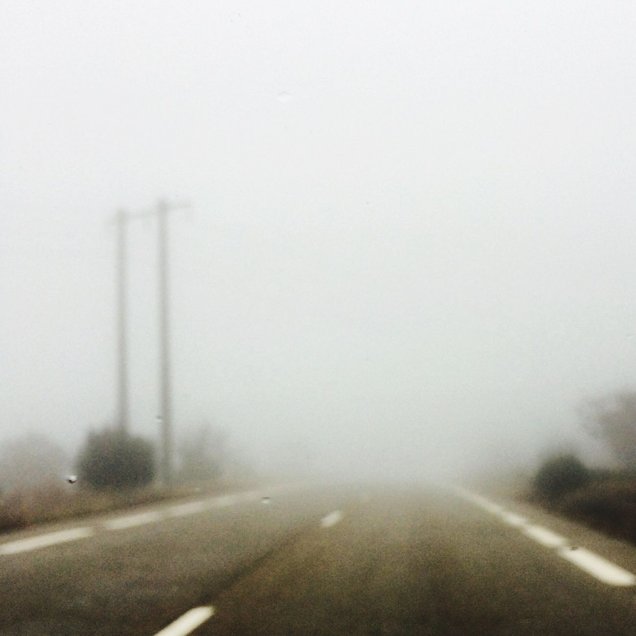 Transportation Fog Road Car No People The Way Forward Outdoors Nature Inspirations
