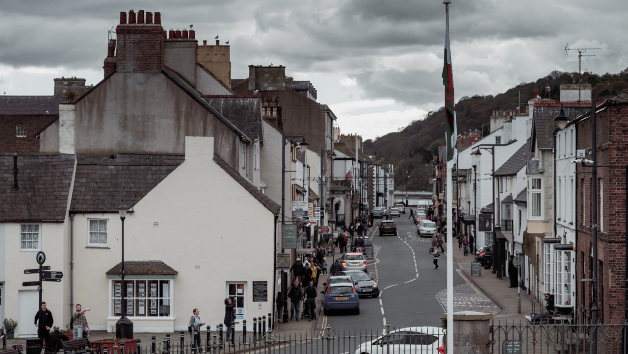 Architecture Beaumaris Building Exterior Built Structure City Cloud - Sky Day Large Group Of People Outdoors People Real People Sky Transportation