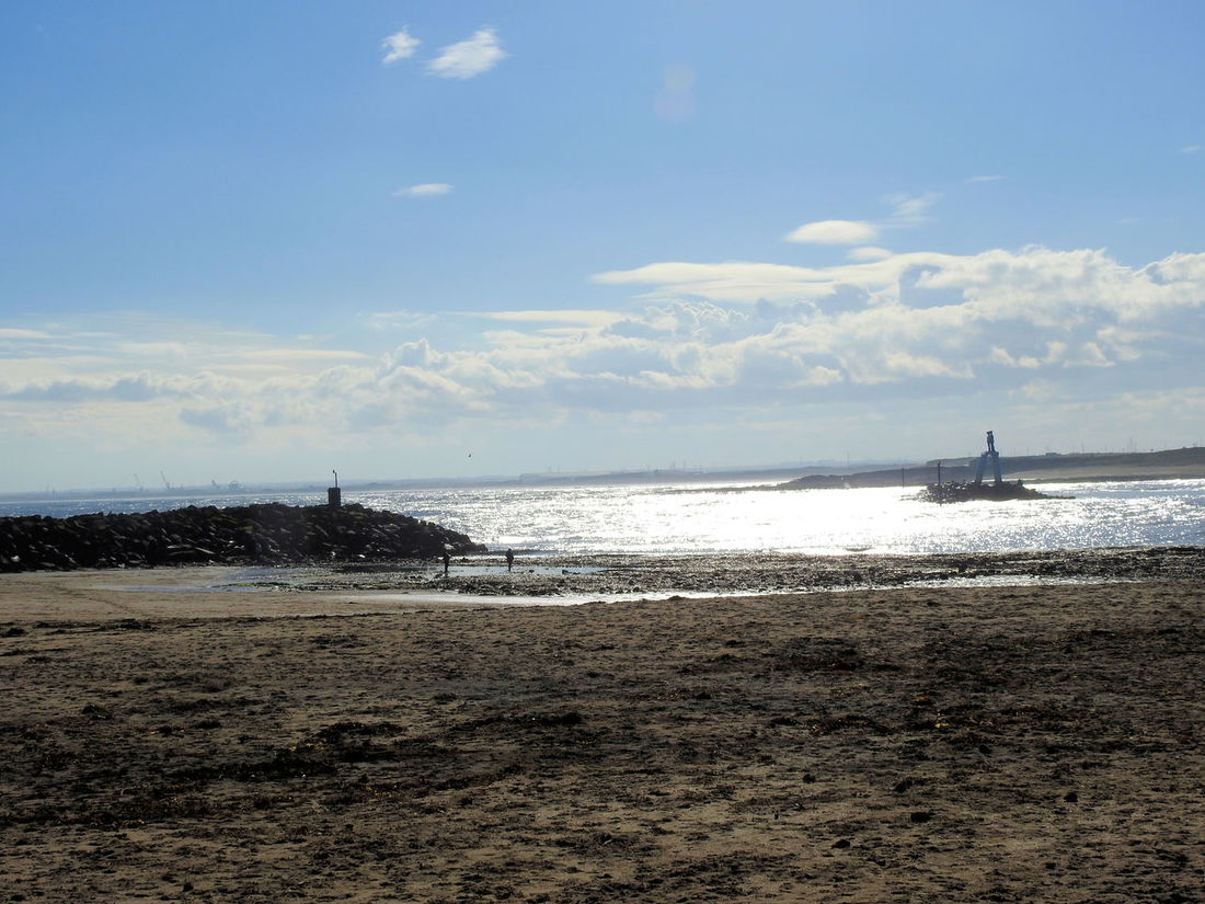 05/03/2017 Beach Beauty In Nature Cloud - Sky Day Horizon Over Water Mode Of Transport Nature Nautical Vessel Newbiggin-by-the-sea No People Outdoors Sand Scenics Sea Sky Transportation Water Wave