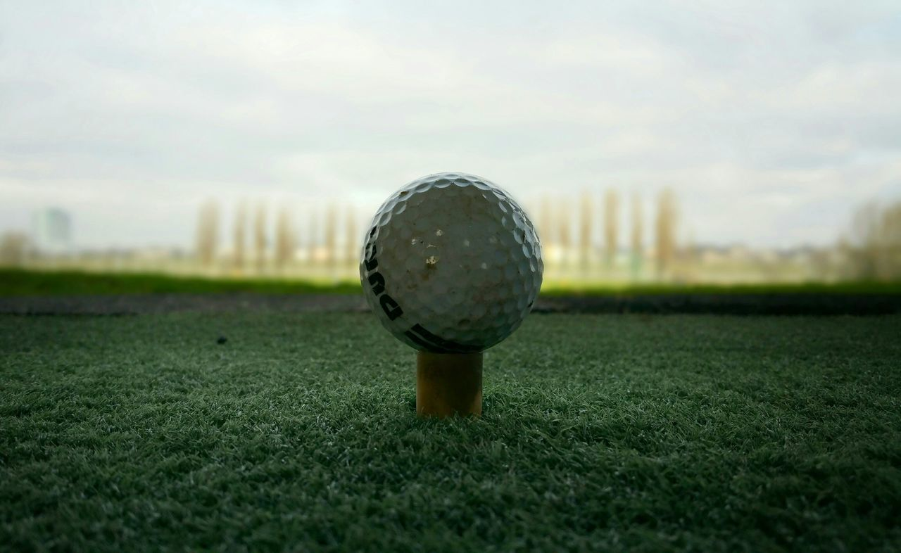 Today I've been hitting some range balls and decided to start my career as a professional golf player ;) Throw A Curve Sport Golfing Landscape Minimalism Enjoying Life Lookingdown Nature From My Point Of View EyeEm Best Shots